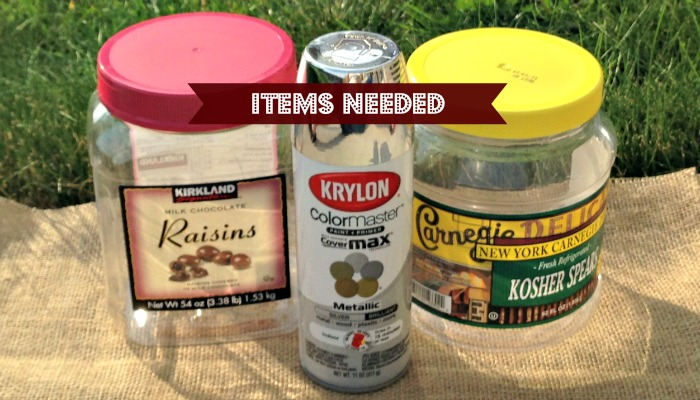 Only 2 items needed to repurpose old containers!