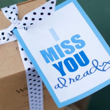 """I MISS YOU ALREADY"" Moving Away Gift"
