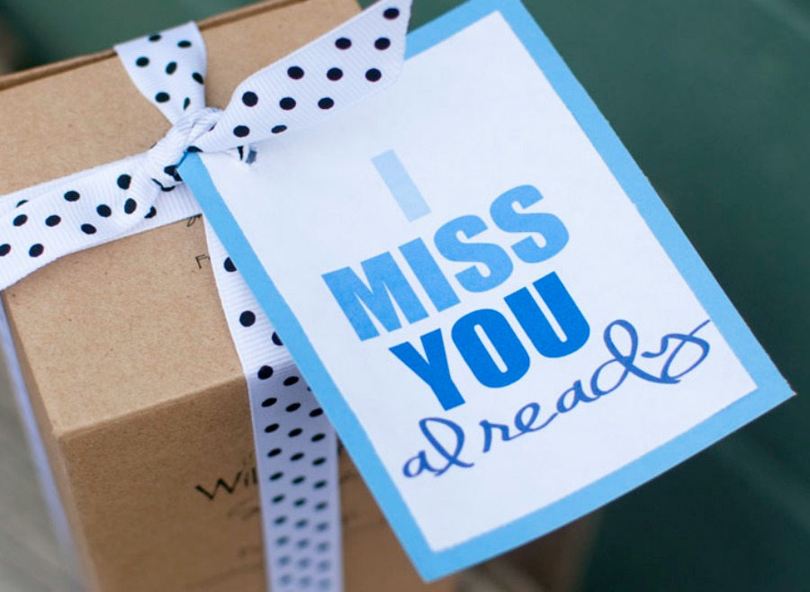I Miss You Already Moving Away Gift