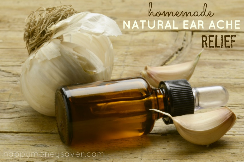 Natural Homemade Ear Ache Relief recipe - Happymoneysaver.com