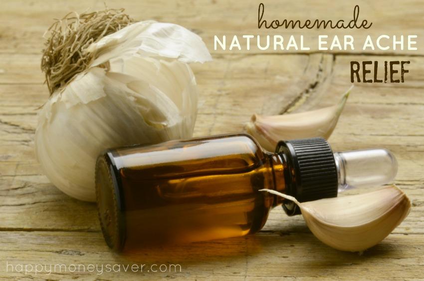 Natural Homemade Ear Ache Relief recipe - Happymoneysaver.com
