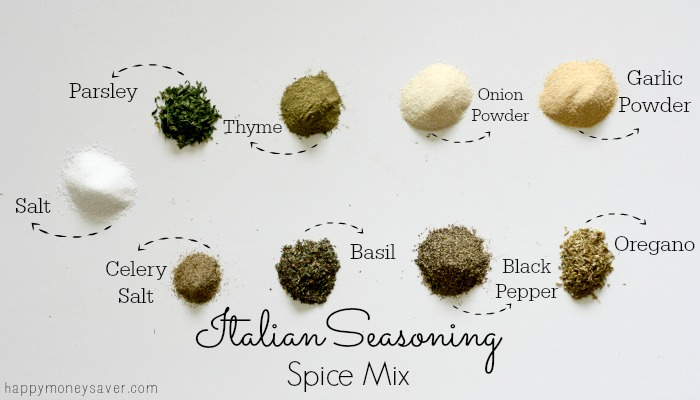 Italian Spice Mix made easily with ingredients in your cupboard!