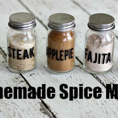 Homemade Cheap Spice Mixes