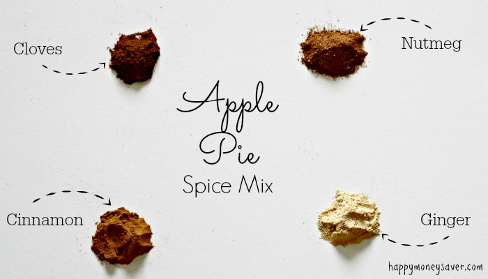 Make Apple Pie Spice Mix with ingredients in your cupboard!