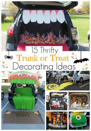 Or Treat Decorating Ideas For Pickup Trucks 15 thrifty trunk or treat ...