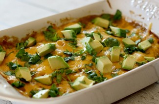 Make Ahead Chicken Enchilada Casserole