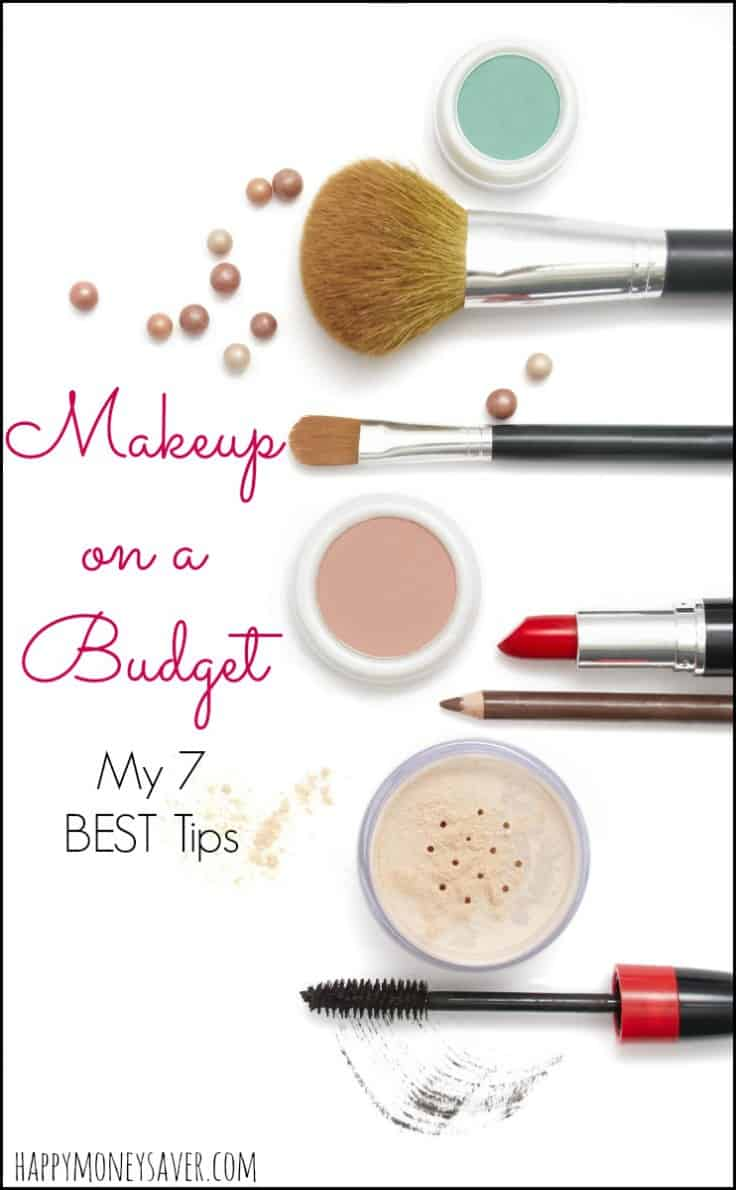 Here are my Favorite Seven THRIFTY Makeup Tips! I wish I would have known them before because they have changed my life!