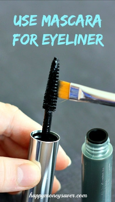 Have you ever been in a pinch with your eyeliner?  Just use mascara for your eyeliner!  So genius!  More tips when you click!