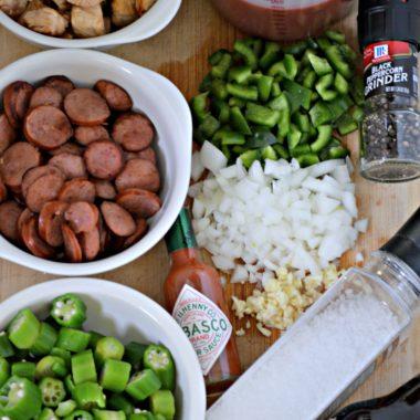 Easy Crock-Pot Sausage Gumbo