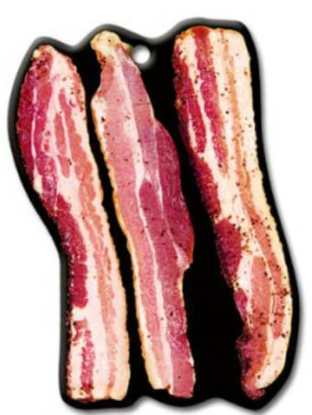 Bacon Air Freshener This would be a hilarious gift for a friend that loves bacon!