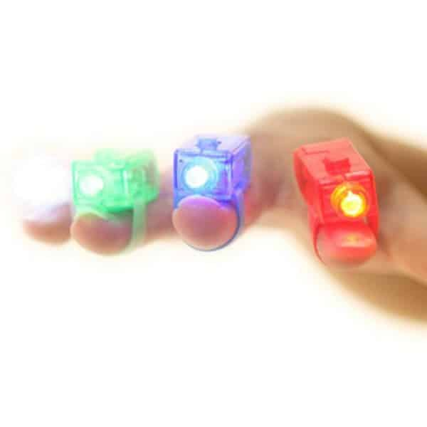 LED Finger Lights Light Up Your Stockings