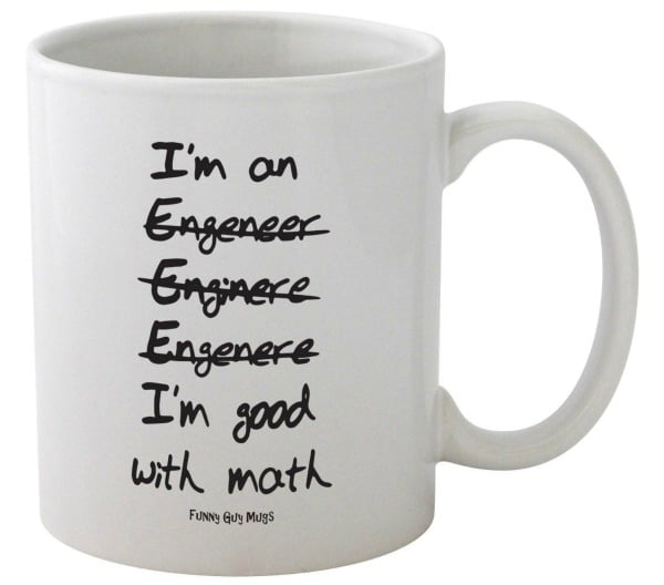 Funny Guy Mugs I'm Good at Math Mug Need a little giggle in the mornings?
