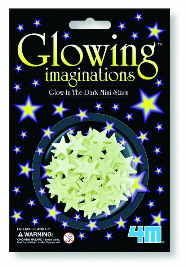 Glowing Stars These are a perfect stocking stuffer that can light up the entire room!