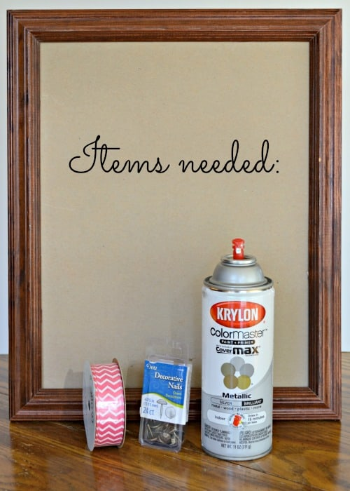 Diy picture frame bow holder all the items you need to make your own bow organizer solutioingenieria Image collections