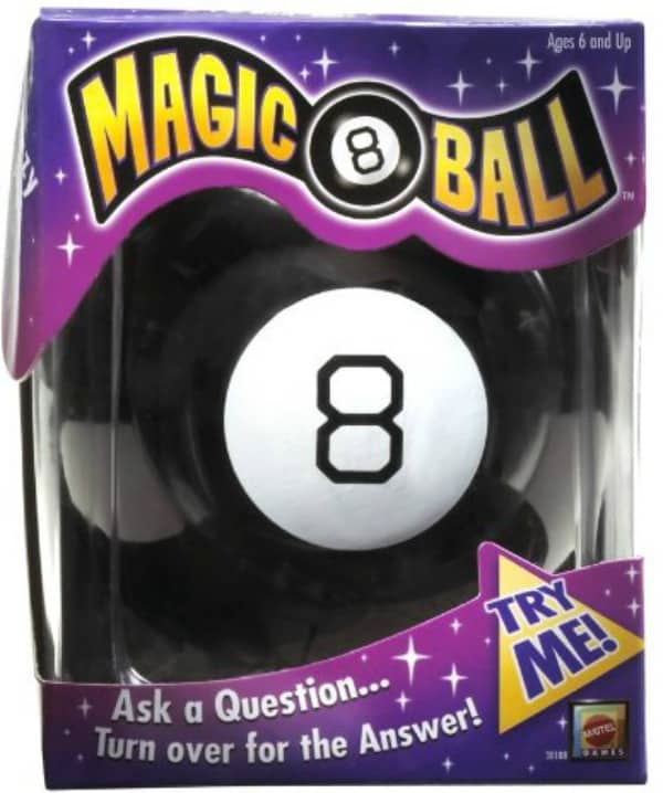 Magic 8 Ball This is such an original fun gift to give!