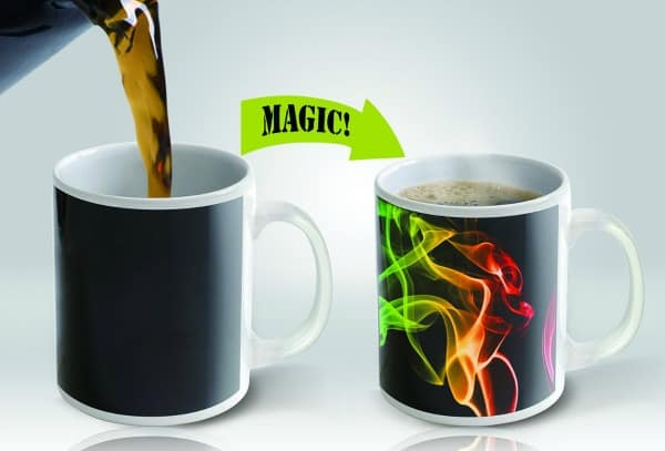 Magic Coffee Mug With this Magic Coffee Mug, waking up with a cup of coffee has never been so cool!