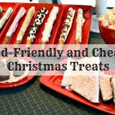 Kid-Friendly and Cheap Christmas Treats