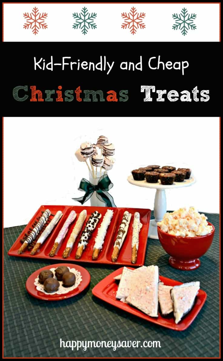 Make Christmas treats with your kids without breaking the bank!