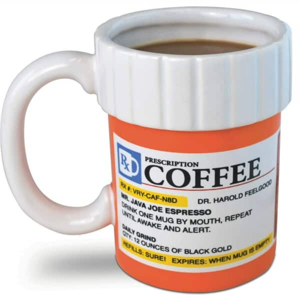 Prescription Bottle Coffee Mug Can you imagine the face of the person who opens this gift?
