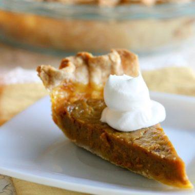 Vintage Pumpkin Pie Recipe