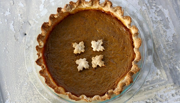 Vintage Pumpkin Pie Recipe {From 1900's recipe Box}
