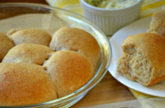 Make Ahead & Freeze Whole Wheat Dinner Rolls