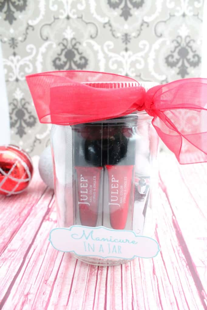 Manicures can be so expensive and this is a very frugal gift idea!