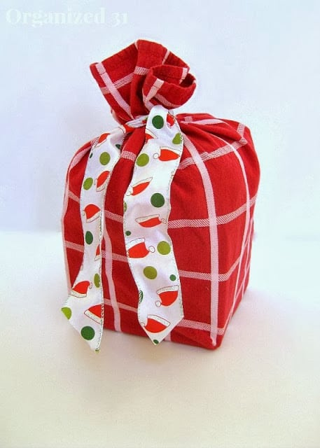 Upcycled Gift Bags are always fantastic and these are beautiful!