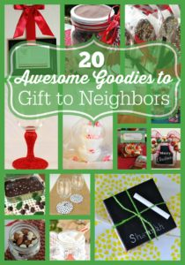 When you are making your list for gifts this year, don't forget your neighbors! I have some awesome ideas here for you to use that are awesome goodies to gift to neighbors!