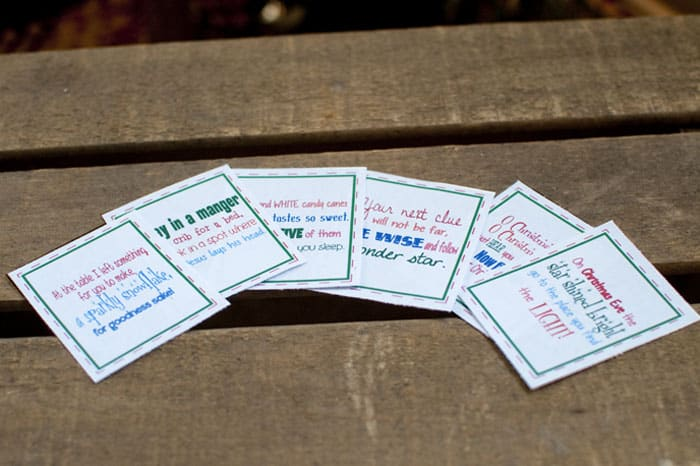 The Ultimate Christmas Treasure Hunt + Free Printable