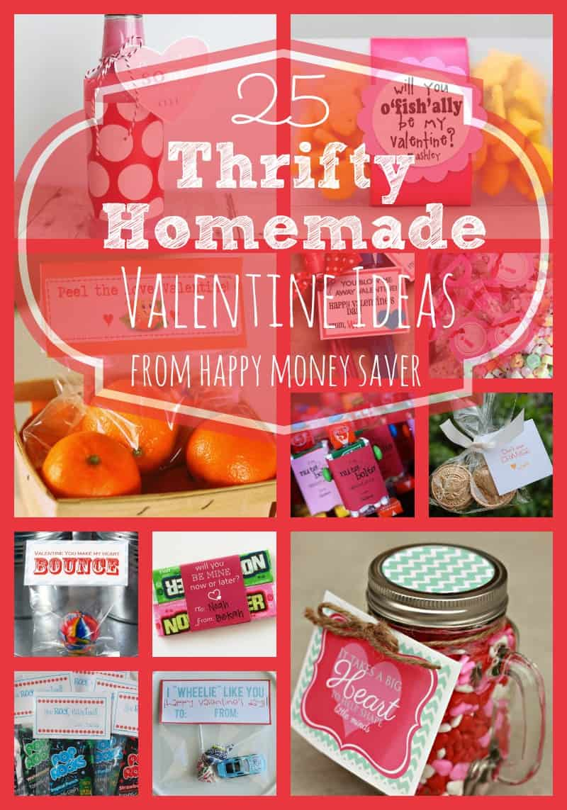 Thrifty Homemade Valentine Ideas Happy Money Saver