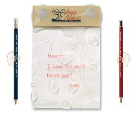Oh how cool is this! Being romantic is always a great thing and you can leave sweet little love notes for your other half!
