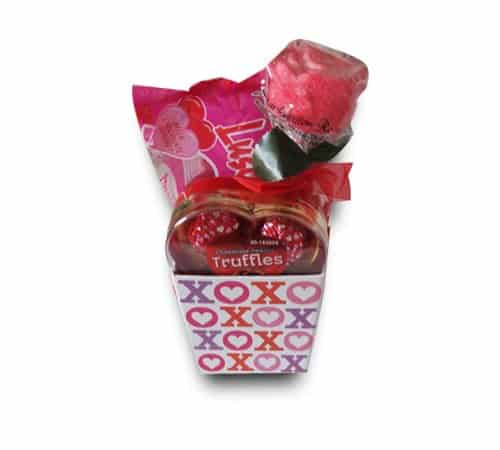 If you like to give chocolate for Valentine's Day, a chocolate gift basket is a fantastic idea!