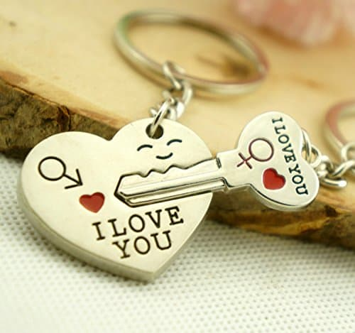 This key chain is so adorable and would be something for your other half to have as a reminder of your love everyday!