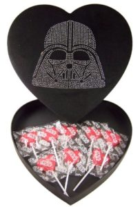 If you have a Star Wars fan for a sweetheart, they would love this! This really is a one of a kind gift idea for Valentine's Day!