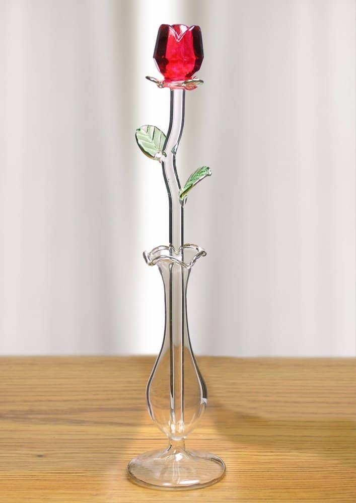If you have considered giving someone a rose for Valentine's Day, why not give them a crystal rose that will last forever?