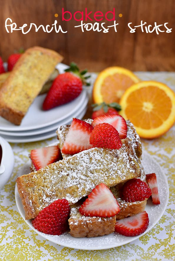 French Toast is always a great breakfast idea and French Toast Sticks are just another delicious way to enjoy this favorite!