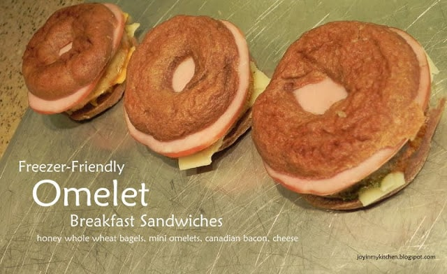 This is a deliciously unique spin on a traditional breakfast sandwich and sounds like something that I would love to try!