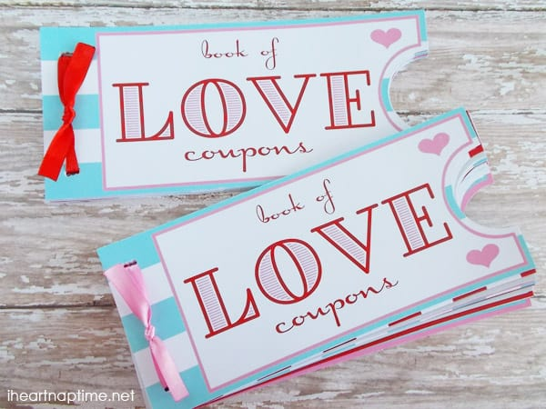 10 Valentines Day Coupon Book Free Printables!