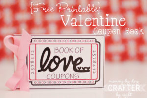 This is another great coupon book that is made to give to your husband on Valentine's Day!