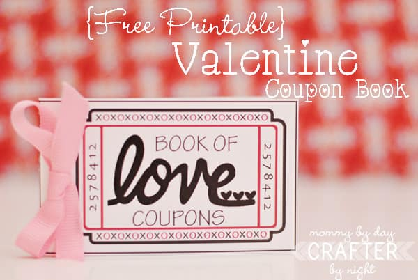 Valentines Day Coupon Book Free Printables
