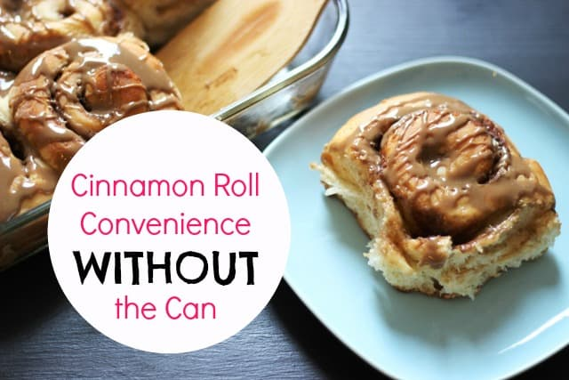 If you love making cinnamon rolls for your family without the can, this is a great idea to have in your freezer!