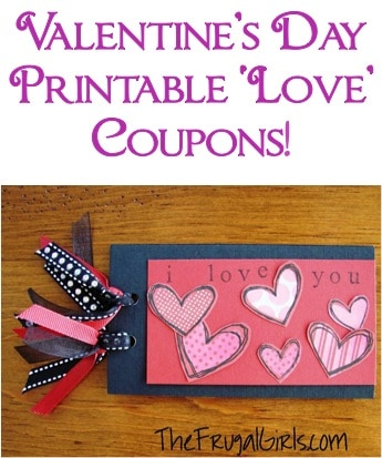one last coupon book for the husband and these ideas are ones that he will love - Valentines Day Book