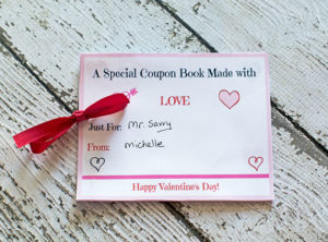 This is a wonderful coupon booklet that is totally customizable for your husband!