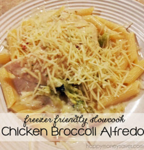 Alfredo dishes are a big hit with my family and this is such an easy recipe to make!
