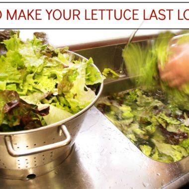 4 WAYS to make your Lettuce LAST longer!