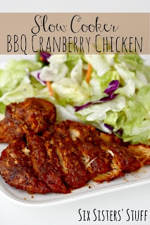 If you love BBQ and cranberry, this recipe is going to be a huge hit at your house!
