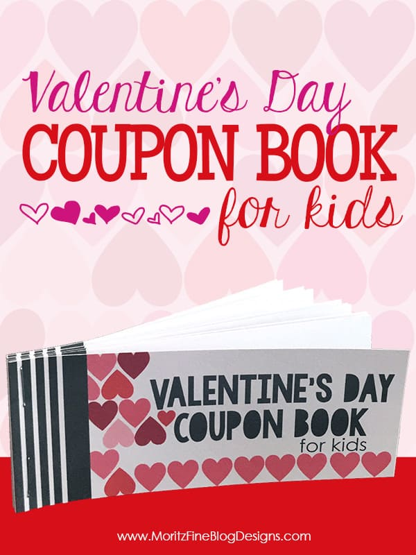 this coupon book is made for kids and has some great ideas inside like ice cream - Valentine Coupon Book