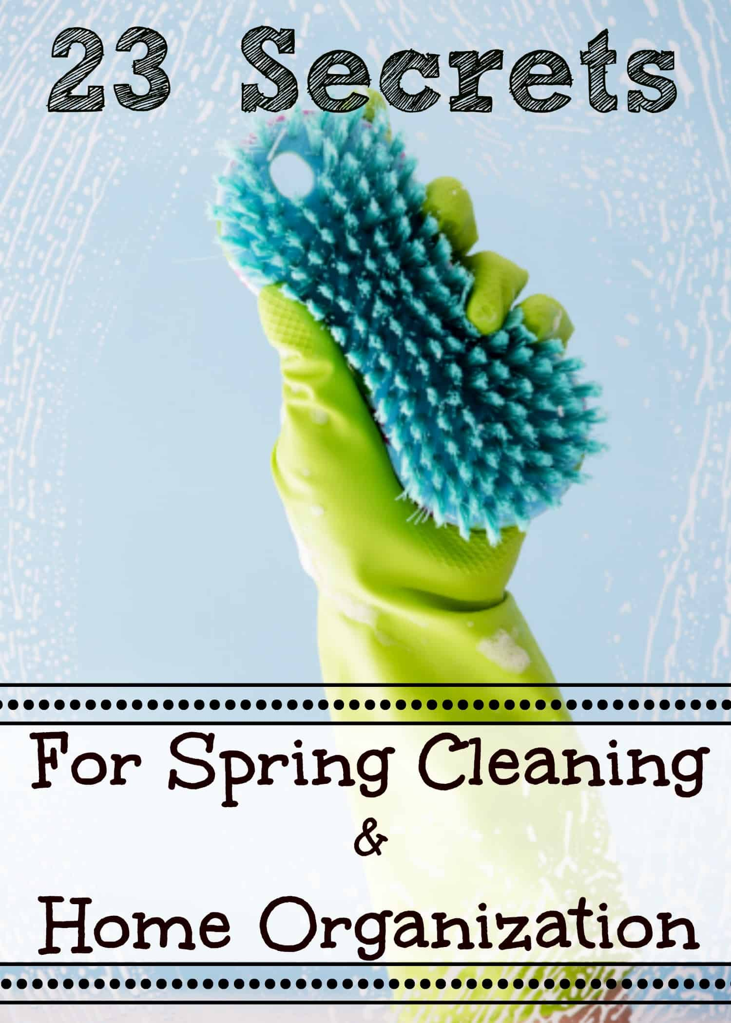 happymoneysaver.com | 23 Amazing Secrets for Spring Cleaning and Home Organization