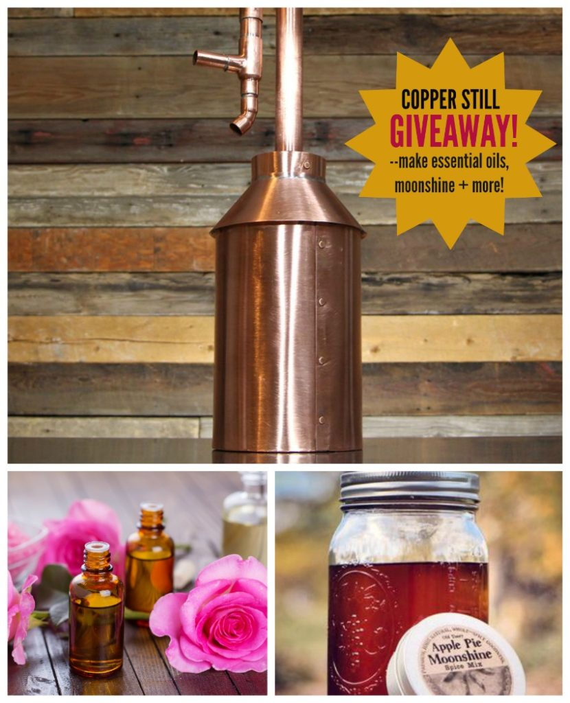 Copper Still Giveaway post
